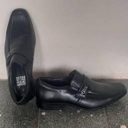 Sapato Tórro Sapato Social Jotape de couro com airbag feito a mão