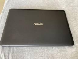 Notebook Asus Cel Dual Core 4GB 500GB Windows 10 Tela 15.6 Polegadas X543MA-GO596T