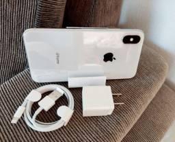 IPhone X 64gigas prata(Excelente bateria 85%)em 10x no cartão