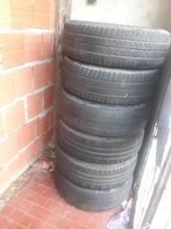 4 pneus com aro do hb20