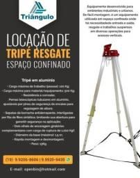 LOCAÇÃO -Tripé Resgate Espaço Confinado