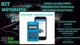 Máquina De Cartão Débito E Crédito Point Mini - Mercado Pago D-150