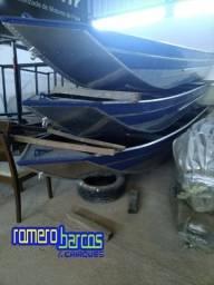 Barcos de pesca p/ rios - novos