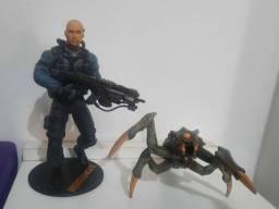 Figura de ação nathan hale jogo resistance 2