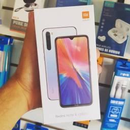 Xiomi Redmi Note 8 64gb (Novo) 12x sem juros
