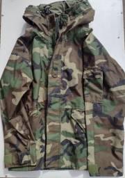 Jaqueta militar Goretex 100% impermeável