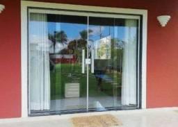 Vendo porta de vidro nova