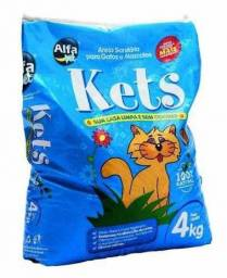 Areia Para Gatos Kets 4 kg