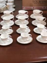 Xícaras de porcelanas