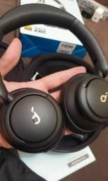 Fone de ouvido Bluetooth Anker Q30 SoundCore com Cancelamento de Ruído Ativo Original