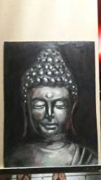 Pintura a oleo Buda