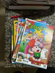 KIT 13 revistas turma da monica