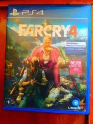 Far Cry 4. PS4, novo, usado apenas uma vez para teste. Mídia física