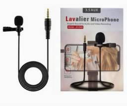 Microfone de Lapela portátil Novo