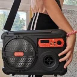 Caixa de Som Completa Microfone e controle só R$230 R.Pde Belchior 307 Centro ou boy