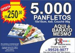 Plafetos  10x15 4x0 promoção