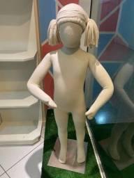 Manequins de tecido articulado Infantil