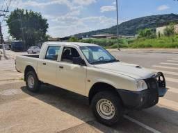 L200 2010 - GL 2.5 - 4x4 CD diesel com apenas 120 mil kms