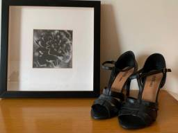 Sapato de couro Dafiti(preto)n°37!!!