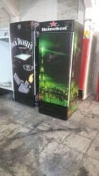 Cervejeiras e freezers personalizados.