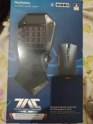 hori tac pro commander - controle  teclado FPS para PS4/PS3