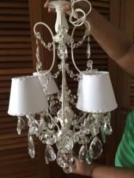 Lustre de cristal provençal