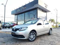 Renault Logan 1.0 Completo 12V - 17/17 - Troco e Financio - 2017