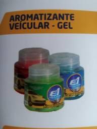 Aromatizador , aromatizante veicular gel