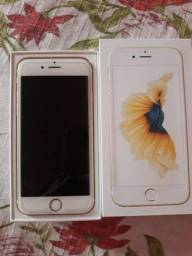 IPHONE 6s dourado, 34GB !