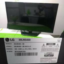 "TV 39"" LED Full HD LG 39LN5400 com Tecnologia MHL, USB DivX HD,"