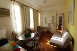 Apartamento quarto e sala mobiliado em Botafogo