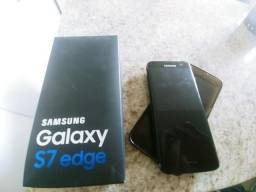 S7 edge black piano 128gb