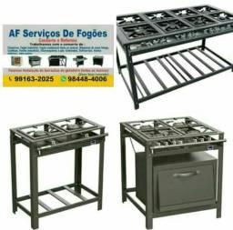 Conserto e reforma de fogões industriais