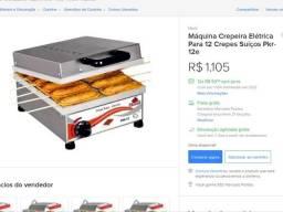 Crepeira seme nova 450 reais, uma nova custa 1,100