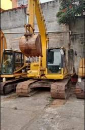 Escavadeira komatsu pc 130