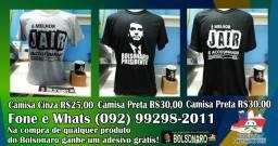 Camisas Jair Bolsonaro