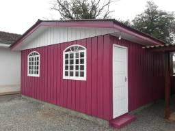 Casa de madeira pre-fabricada