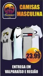 Camisa algodão promoção