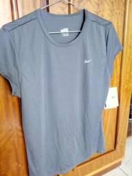 Camiseta Dry Fit Nike G - Chumbo - Nova 7e3bdb0c3c658