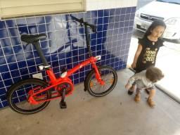 Vendo bicicleta bike btwin tilt 7 720 dobrável