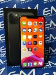 IPhone 11 Pro Max 256Gb Preto - Novo - Garantia Apple , somos loja fisica