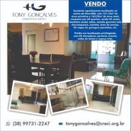 Excelente apartamento de 131,15m² | Sacada gourmet | 02 vagas de garagem | Unaí/MG