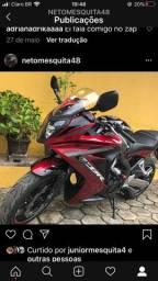 Moto Honda CBR 650F 2017
