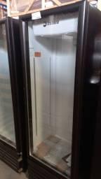 Cervejeira porta de vidro 450 lts Alessandro *