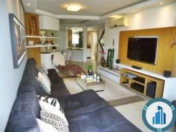 Apartamento para Venda, 03 dormitórios c/ suíte, 2 salas, 2 vagas, 120,87 m² privativos, B