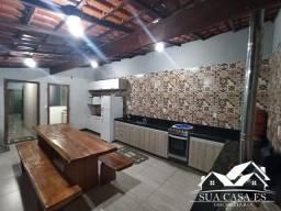 Casa Linear individual, 3 Vagas cobertas área gourmet grande - ES