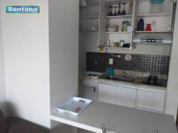 Apartamento com 2 dormitórios à venda, 57 m² por R$ 240.000,00 - Centro - Caldas Novas/GO
