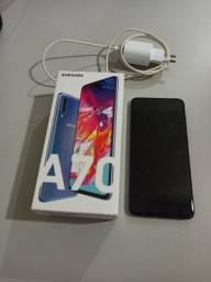 Samsung A70 128gb azul usado