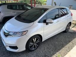2018 Fit EXL 1.5 automático branco na garantia