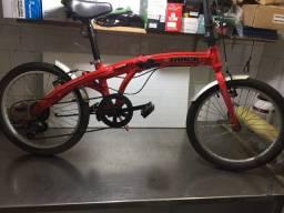 Bike Track Premium Aro 20 Dobrável Pouco Uso